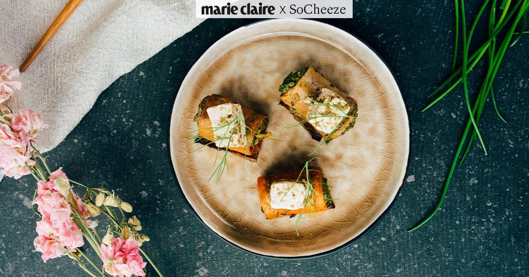5 recepten met plantaardige kaas