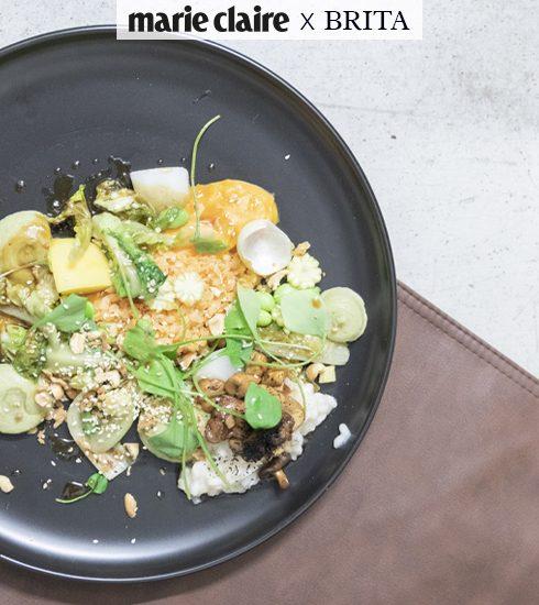 4 recepten uit de Marie Claire x BRITA Sustainable Cooking Workshop