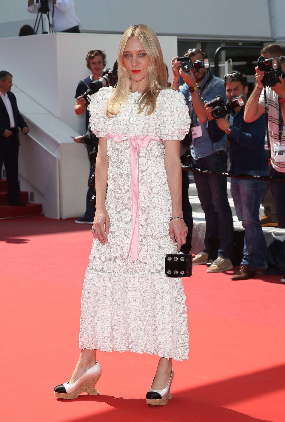Chloe Sevigny in Chanel