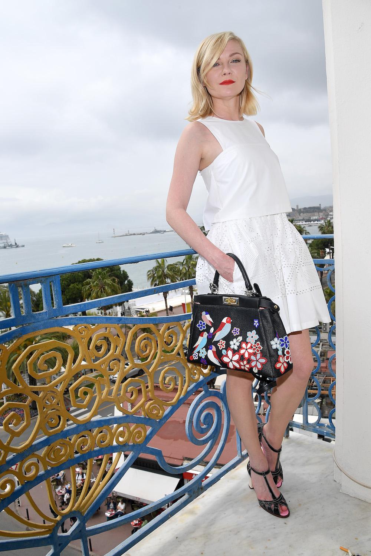Kirsten Dunst in fendi