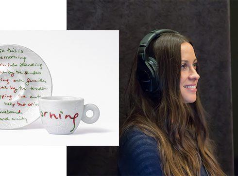 Duurzaam kopje koffie met Alanis Morisette