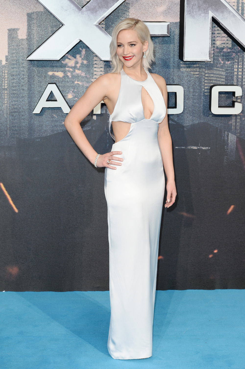 Jennifer Lawrence in Pomellato