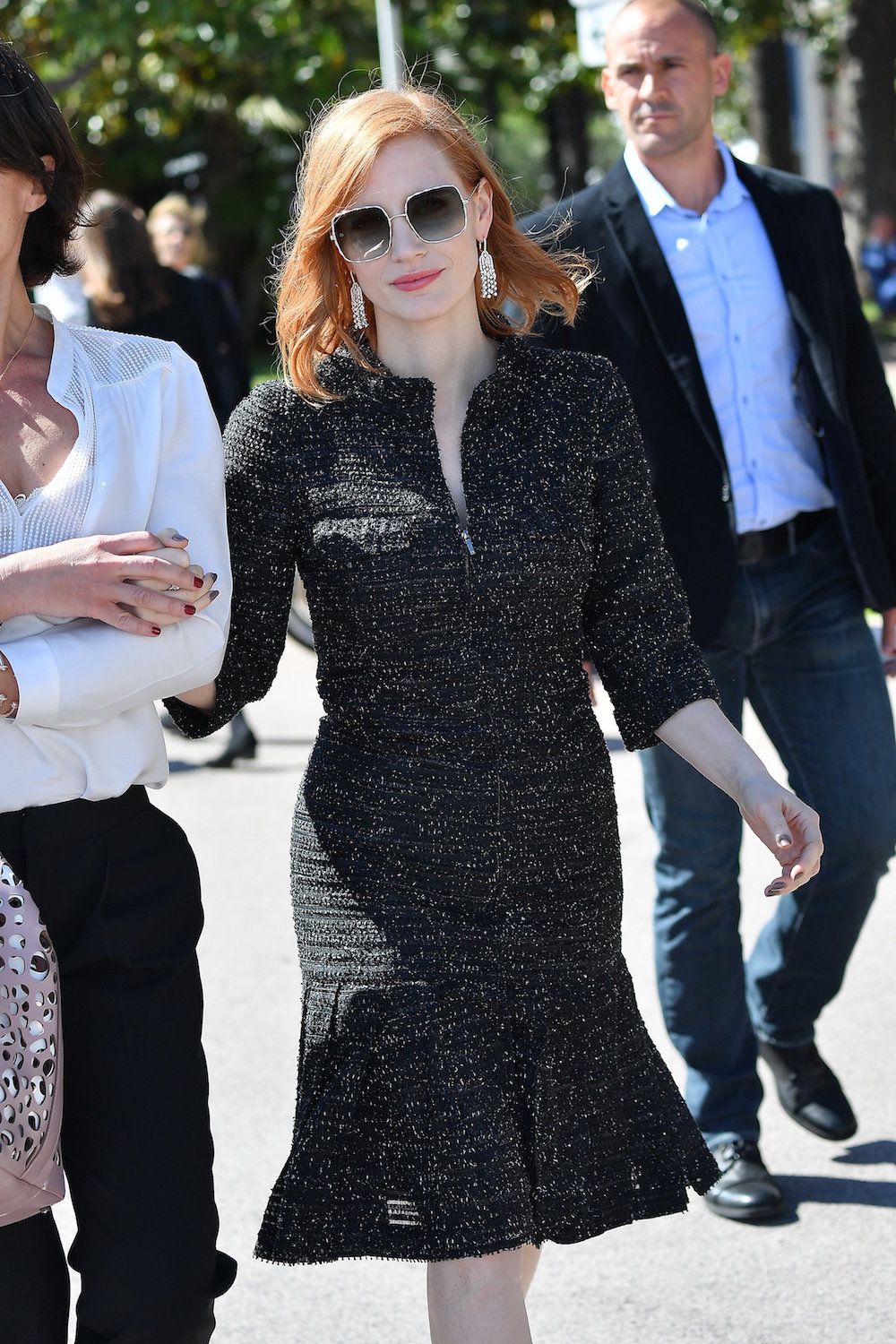Jessica Chastain in Chanel