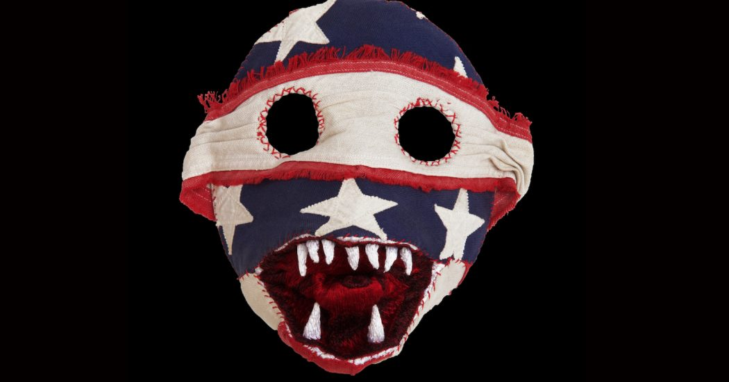 Expo Christophe Coppens: hoeden worden maskers