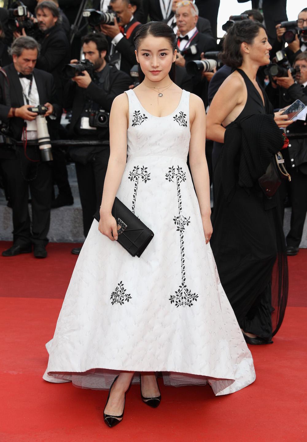Yao Xin in Dior