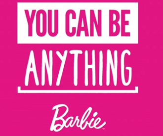 You Can Be Anything-campagne Barbie