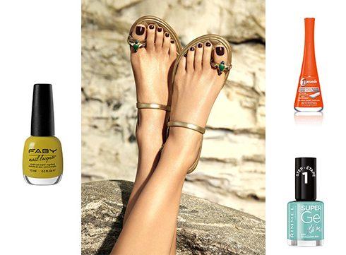 7 kleurtjes nagellak voor zomerfrisse nagels