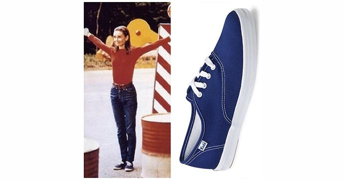 Audrey's sneakers