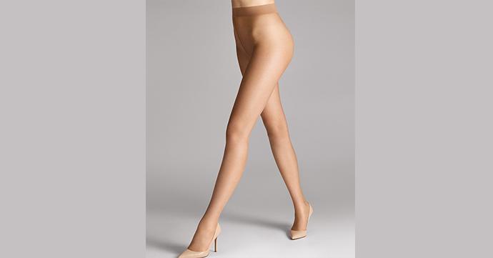 Blote benen-panty's