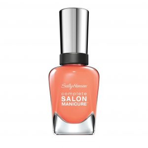 Salon Manicure in Peach of Cake Sally Hansen