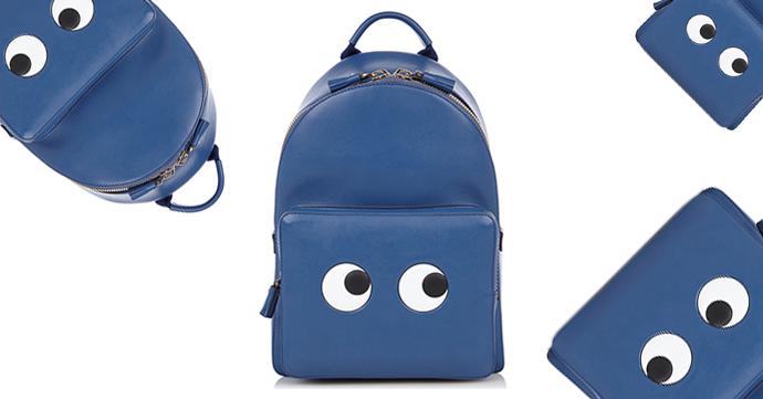 Crush of the Day: de Eyes Mini Backpack van Anya Hindmarch