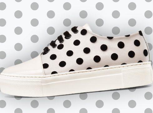 Crush of the Day: AGL's Polka Dot Sneaker