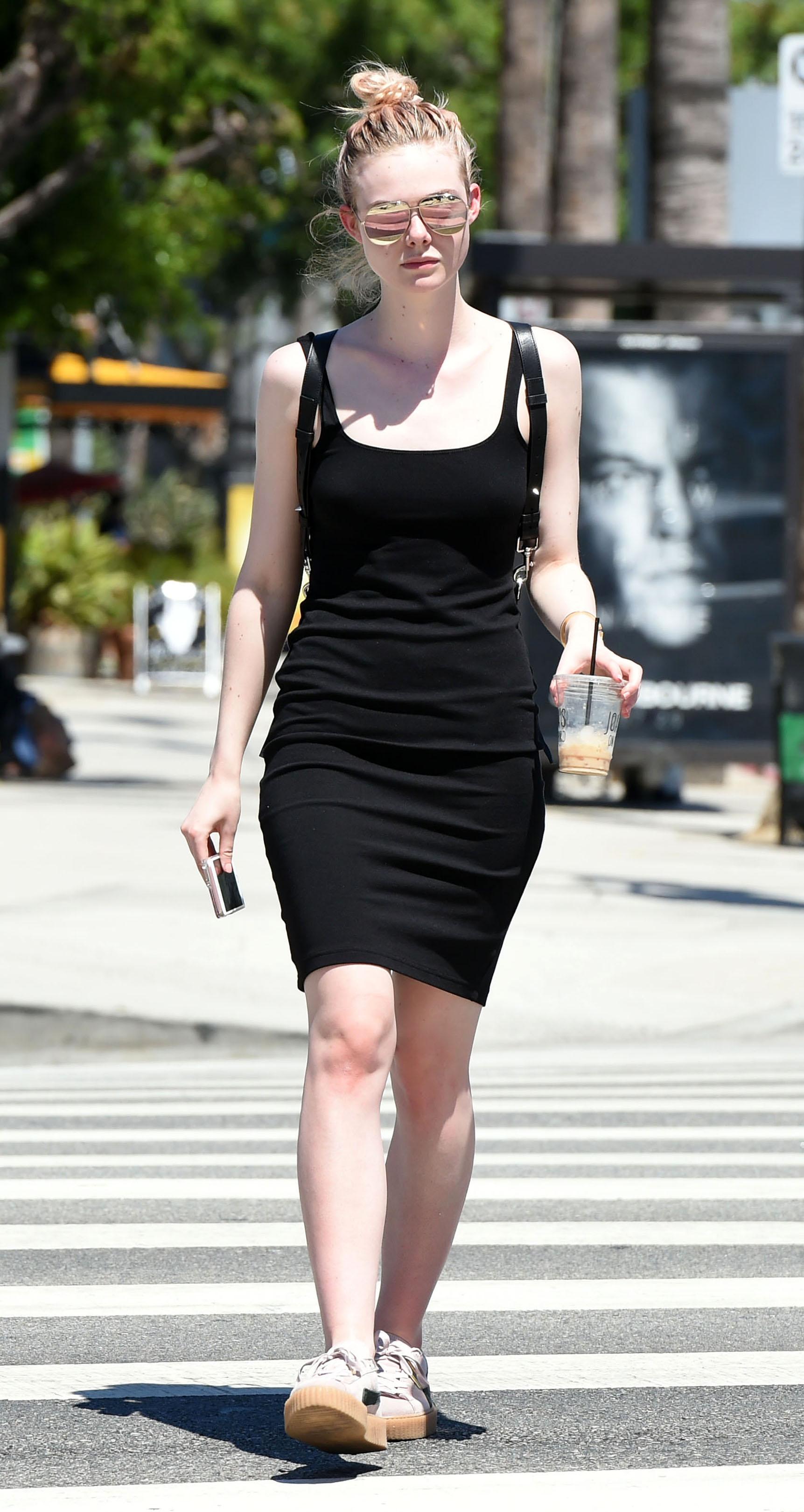 Elle Fanning x Dior Split