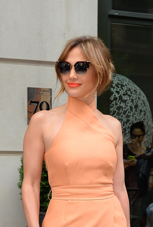 Jennifer Lopez x Dior Split