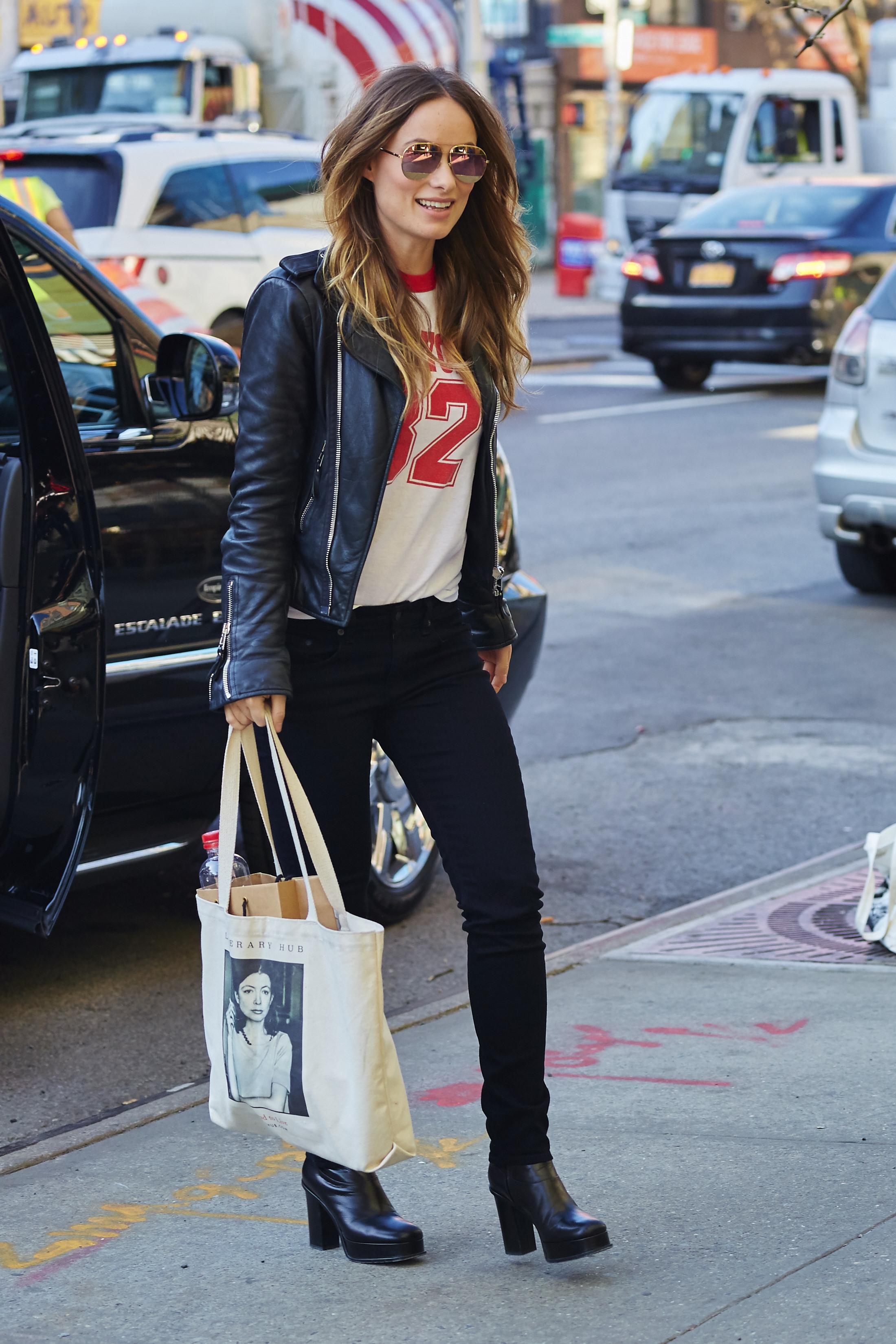 Olivia Wilde x Dior Split