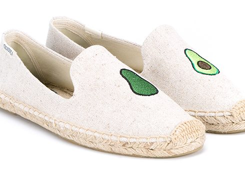 Crush of the Day: Soludos' avocado-espadrilles