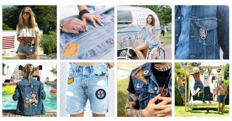 customized jeans