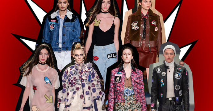 Trendshoppen: patches en badges