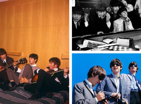 Filmdate met the Beatles