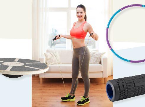 5 gadgets om thuis mee te sporten