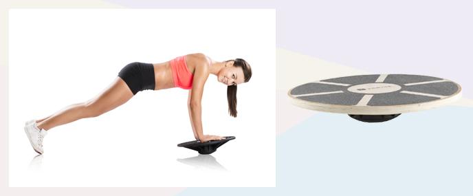 Thuis sporten met accessoires: Balance Board