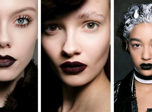 Trendshoppen: donkere lippen