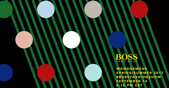 Volg live de show van Boss op New York Fashion Week