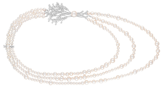 Crush of the day: parelketting Moisson de Perles van Chanel