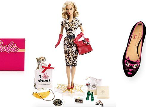 Charlotte Olympia speelt met Barbie