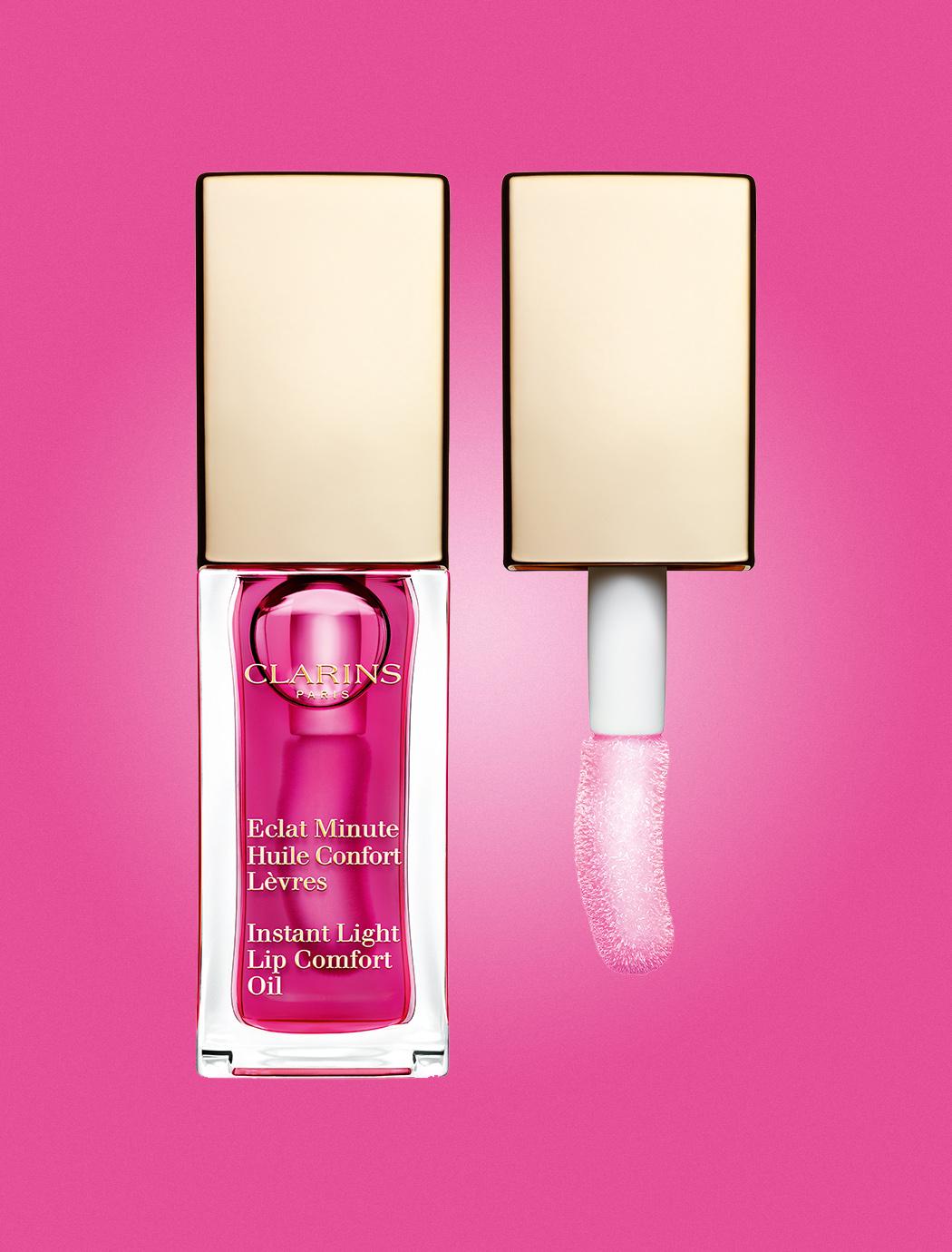 Instant Light Lip Comfort Oil van Clarins