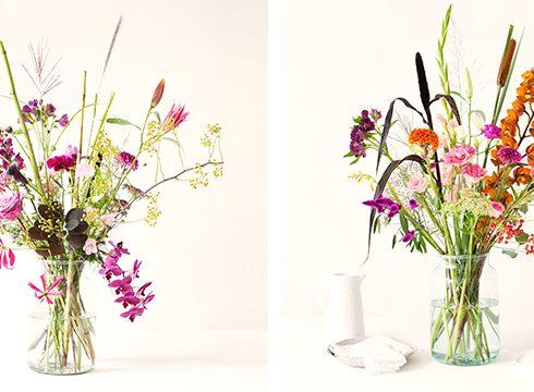 Modern bloemschikken: zo maak je zélf een fris boeket