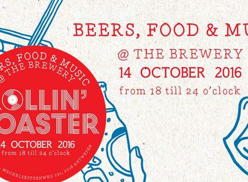 Vanavond: Rollin' Coaster in de Antwerpse Stadsbrouwerij De Koninck!