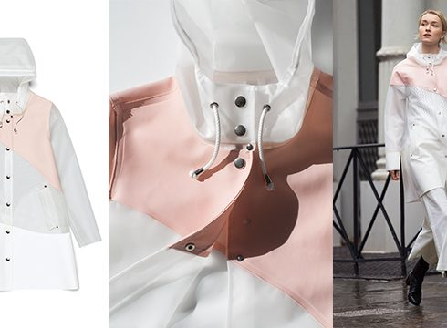 Crush of the day: Stutterheim Raincoats x Garance Doré Studio
