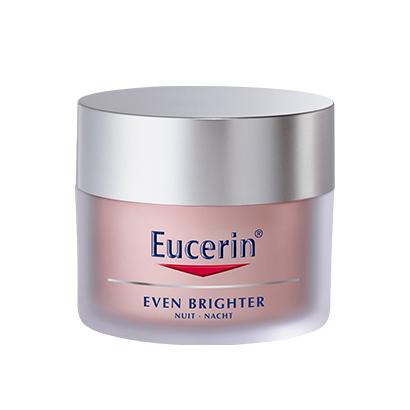 Even Brighter Nachtcrème van Eucerin, € 26, bij de apotheek