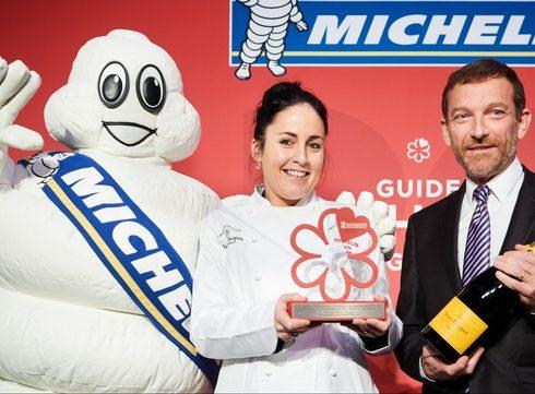De eerste Michelin prijs voor Vrouwelijke Chef gaat naar Ricarda Grommes