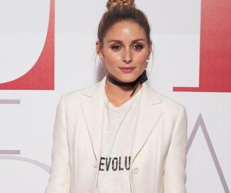 Olivia Palermo in Dior's Revolution t-shirt
