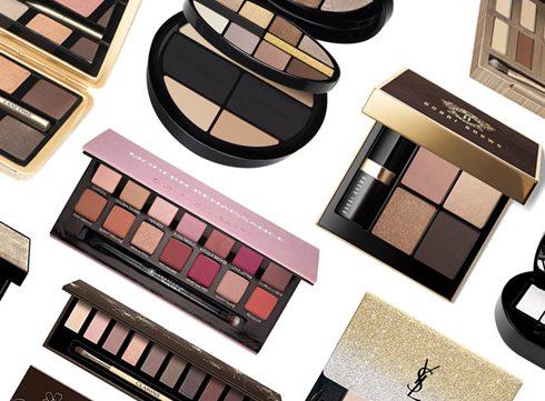 8 make-up-paletten om te geven (of te krijgen)