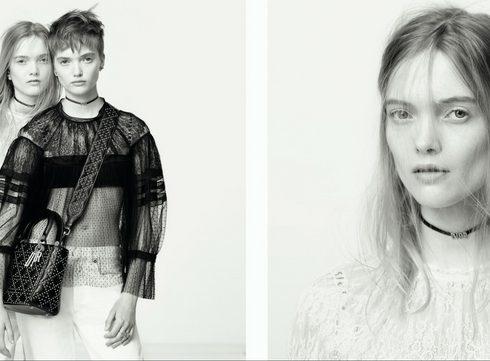 De eerste campagnebeelden van de Dior lente/zomer 2017 collectie
