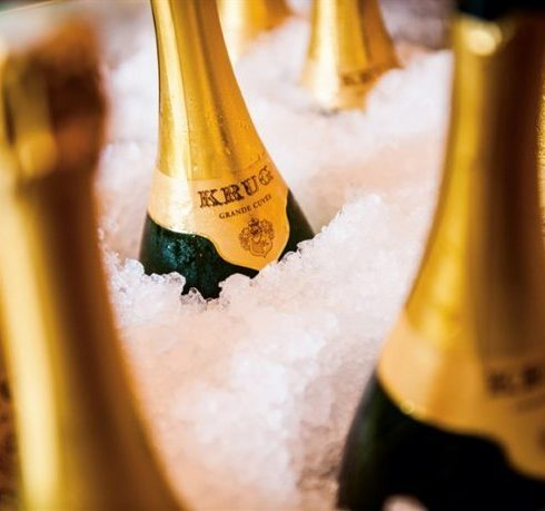 Krug champagne: droombubbels in een glas