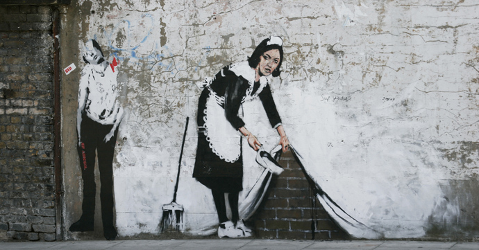 Expo: The Art of Banksy in Antwerpse Stadsfeestzaal