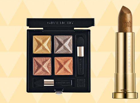 Gouden make-up, niet alleen voor oudejaarsavond