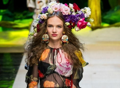 Modetrends 2017: bloemenprint voor de lente