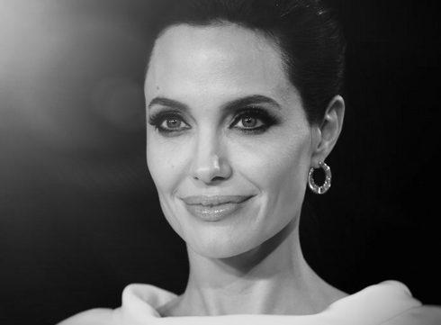 Angelina Jolie gezicht voor 'Mon Guerlain'