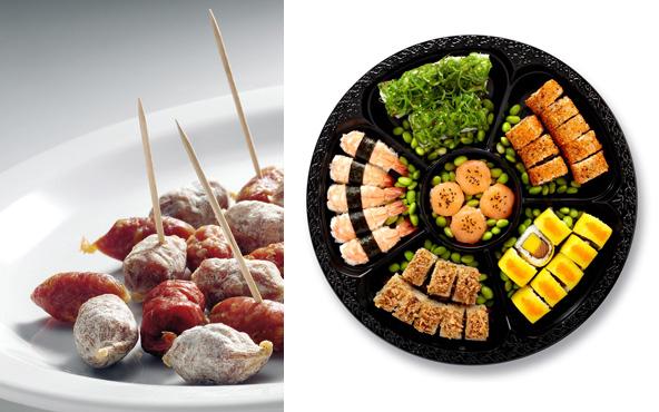 Rob The Gourmet's Market en de Bento-schotel van Sushi Daily