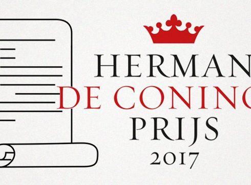 De Herman De Coninckprijs 2017