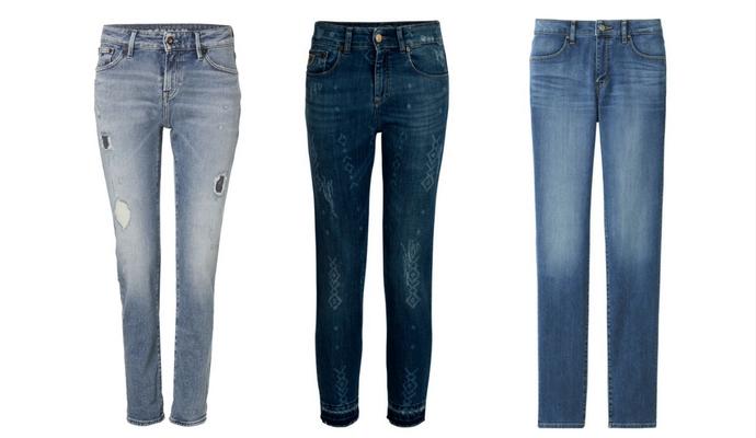 Aanpassende jeans