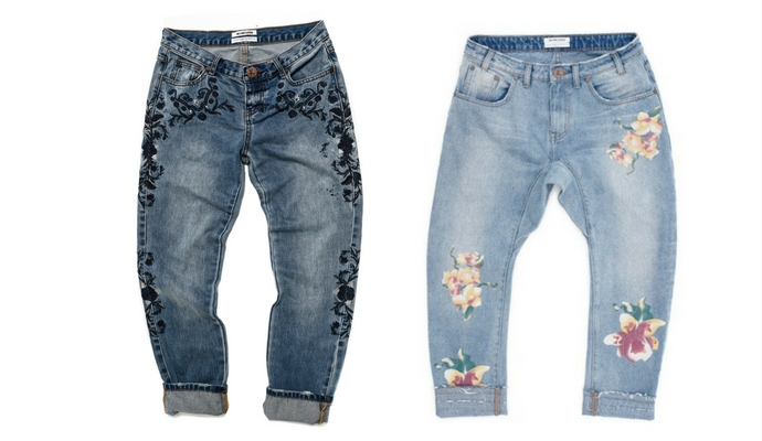 losse jeans