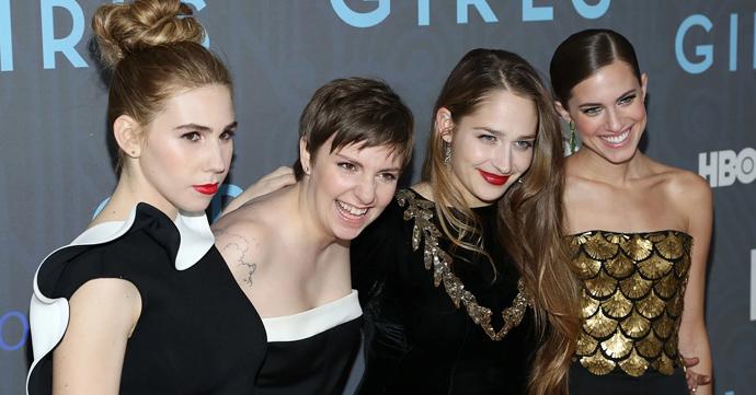Lena Dunham en co zonder photoshop in Glamour