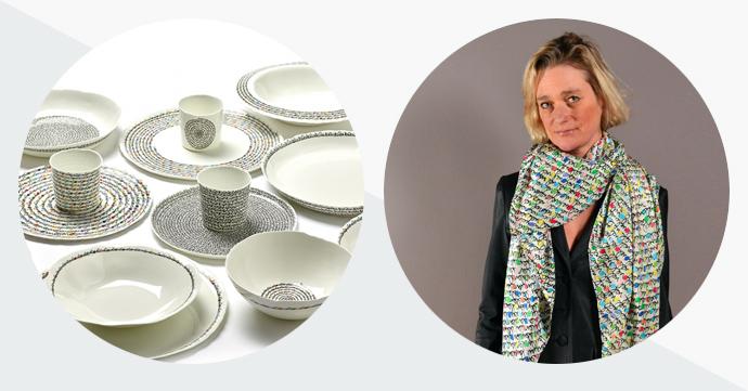 Kunst om te dragen of van te eten, door Delphine Boël