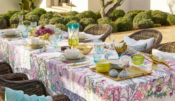 Zara Home: de nieuwe collectie voor lente en zomer Underwater